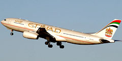 ������������ Etihad Airways ����� ���������� ������ � ����